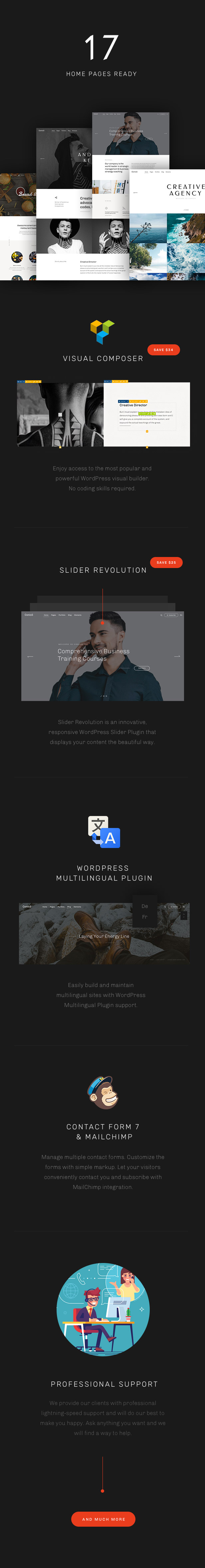 Conico — Responsive Multipurpose WordPress Theme (Creative)